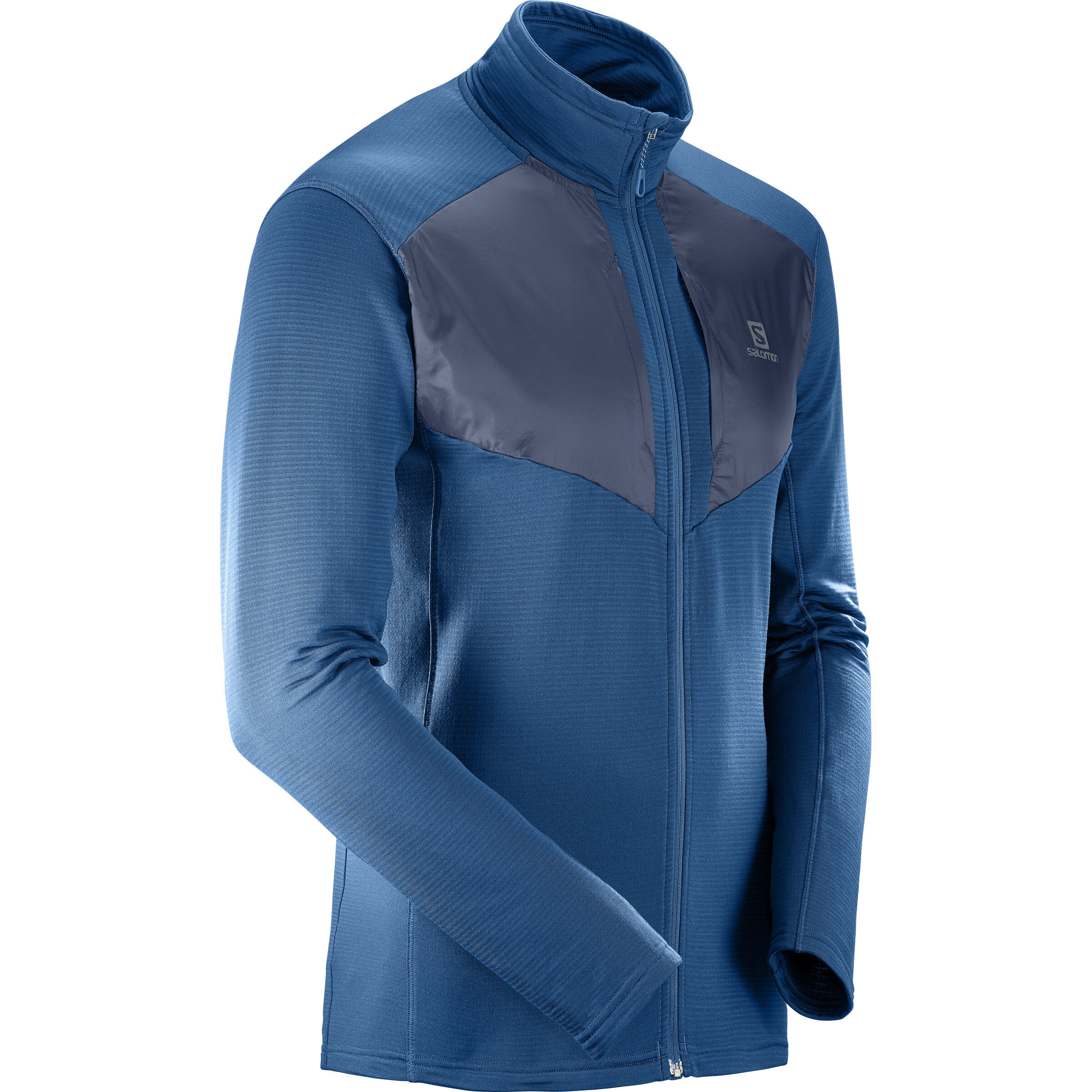 Salomon Grid FZ Midlayer Herren poseidonnight sky