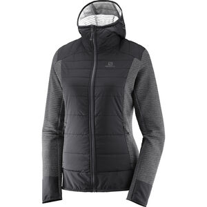 Salomon Right Nice Hybrid Hoodie Damen black black