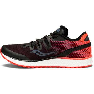 saucony Freedom ISO Shoes Damen black/vizipro red black/vizipro red