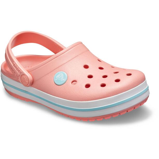 Crocs Crocband Clogs Kinder melon/ice blue