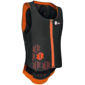 Komperdell Ballistic Vest Protector Kinder black/orange black/orange