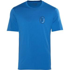 Patagonia Capilene Daily Graphic T-Shirt Herren climb clean rack:bandana blue climb clean rack:bandana blue