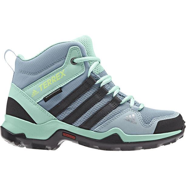 adidas TERREX AX2R Mid CP Schuhe Kinder ash grey/carbon/clemin