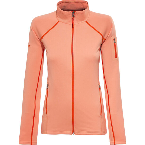Marmot Stretch Fleecejacke Damen melon blush