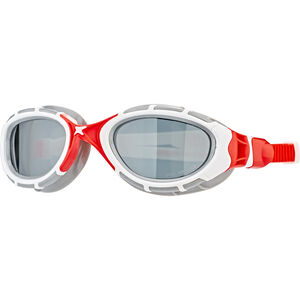 Zoggs Predator Flex Goggles Polarized white/red white/red