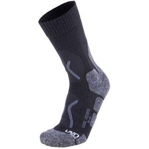 UYN Trekking Cool Merino Socks Herren black/grey melange black/grey melange
