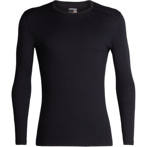 Icebreaker 200 Oasis LS Crew Shirt Herren black black