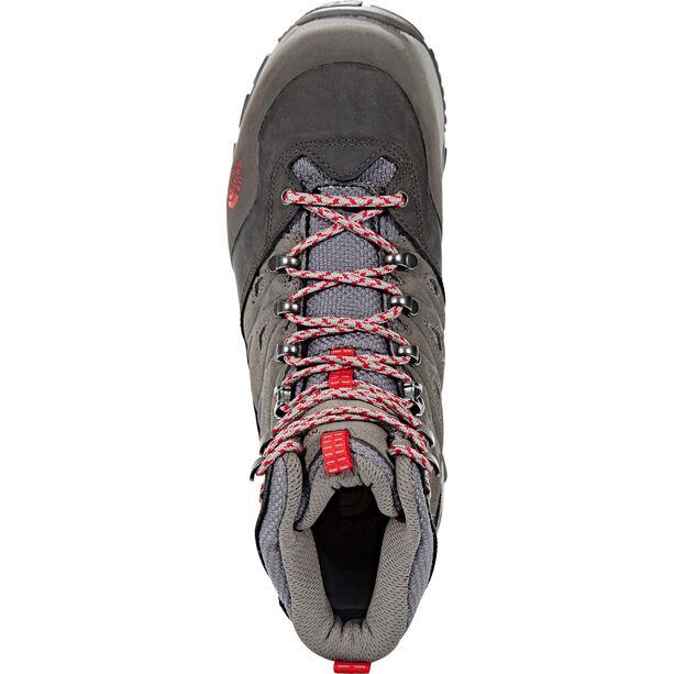 The North Face Hedgehog Trek GTX Shoes Damen dark gull grey/melon red