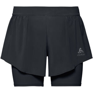 Odlo Zeroweight Ceramicool PRO 2-in-1 Shorts Damen black black