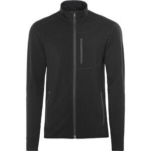 Icebreaker Descender LS Zip Jacket Herren black/black black/black