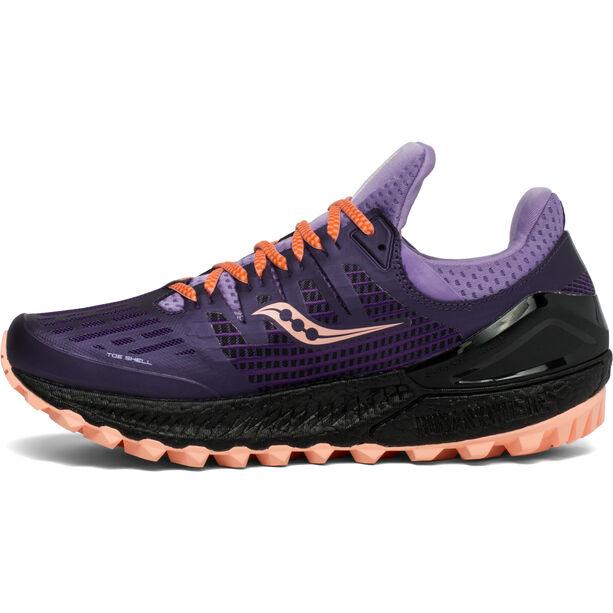 saucony Xodus ISO 3 Schuhe Damen purple/peach