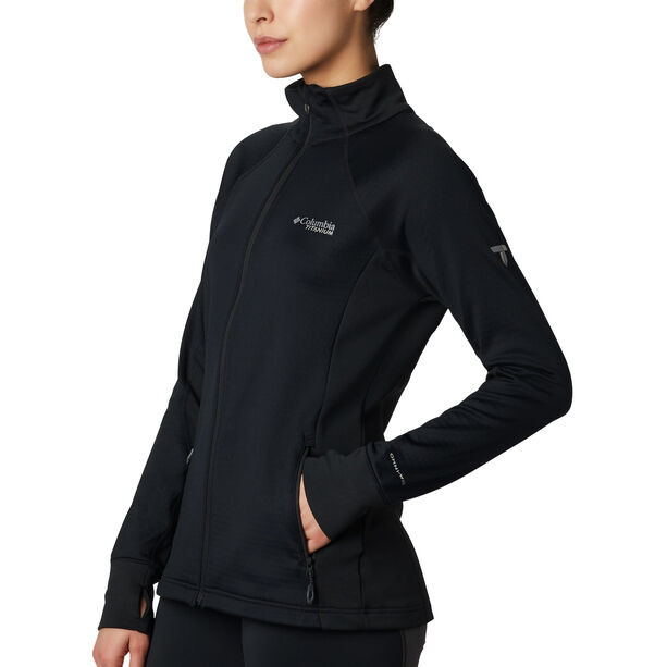 Columbia Mount Defiance Fleecejacke Damen black
