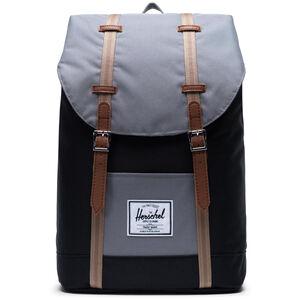 Herschel Retreat Backpack 19,5l black/grey/pine bark/tan black/grey/pine bark/tan