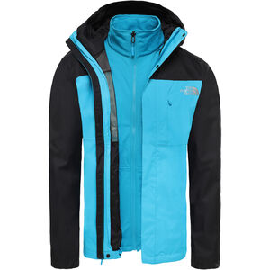 The North Face Quest Triclimate Jacke Herren acoustic blue/tnf black acoustic blue/tnf black