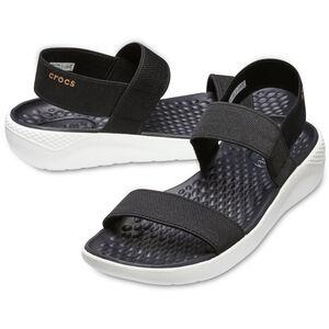Crocs LiteRide Sandals Damen black/white black/white