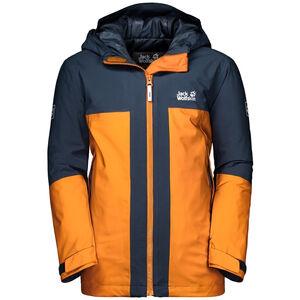 Jack Wolfskin Powder Mountain Jacke Jungs rusty orange rusty orange