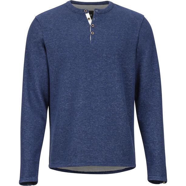 Marmot Cooper Langarm Shirt Herren arctic navy
