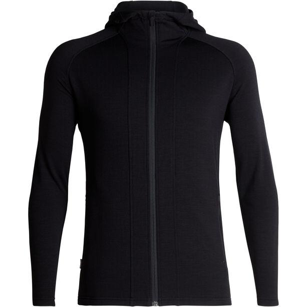 Icebreaker Wander Hooded Jacket Herren black