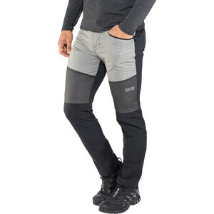GORE WEAR H5 Windstopper Hybrid Pants Herren black/terra grey black/terra grey
