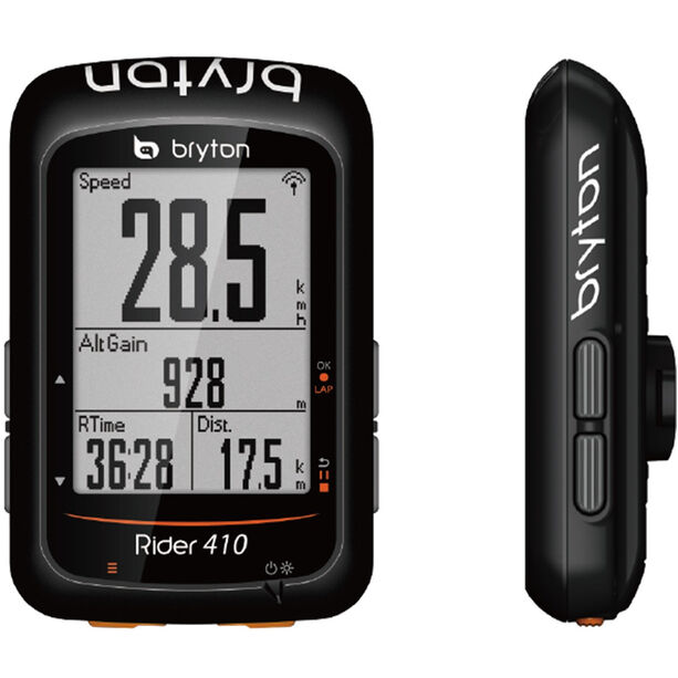 Bryton Rider 410 E Fahrradcomputer schwarz