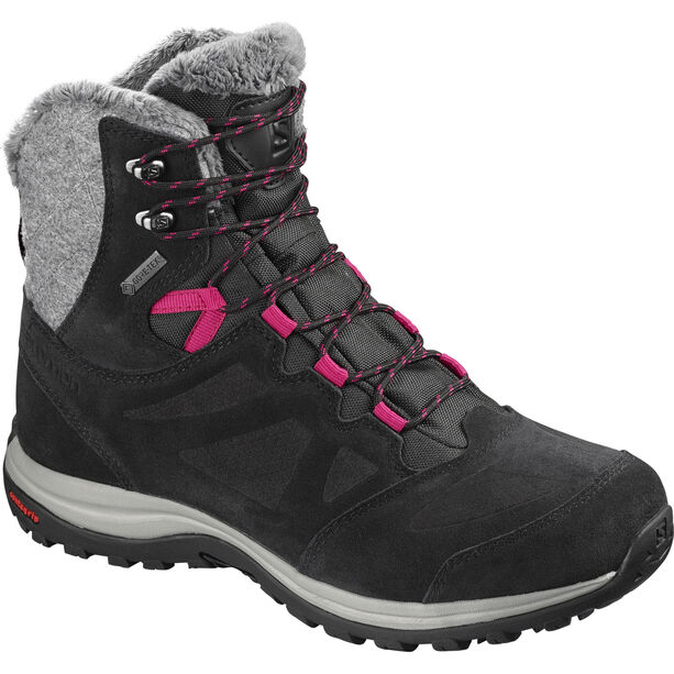Salomon Ellipse GTX Winter Shoes Damen black/phantom/cerise.