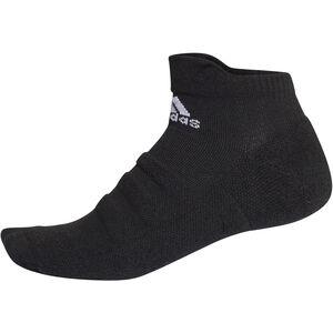 adidas Alphaskin Ankle Lightweight Socks Herren black/white black/white