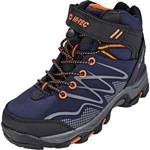 Hi-Tec Blackout Mid WP Shoes Jungs navy/orange navy/orange