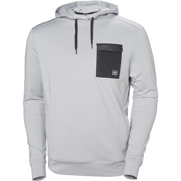 Helly Hansen Hyggen Light Hoodie Herren grey fog melange