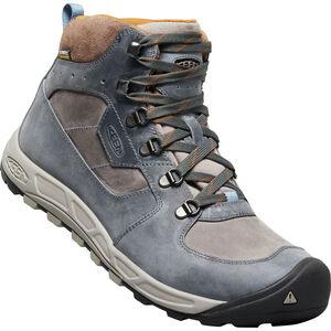 Keen Westward Leather WP Mid Shoes Herren dark slate/grey flannel dark slate/grey flannel