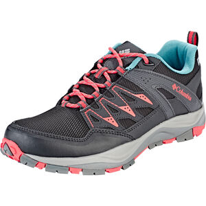Columbia Wayfinder Outdry Shoes Damen black/red coral black/red coral