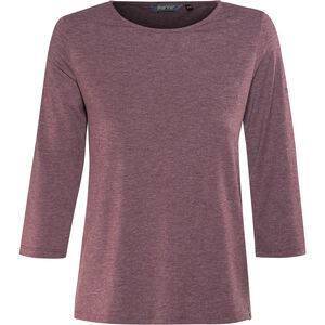 Meru Skara 3/4 Sleeve Shirt Damen crushed violet melange crushed violet melange