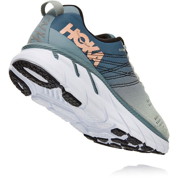 Hoka One One Clifton 6 Schuhe Damen lead/sea foam