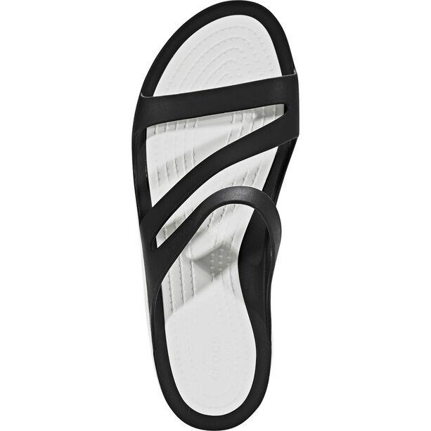 Crocs Swiftwater Sandals Damen black/white