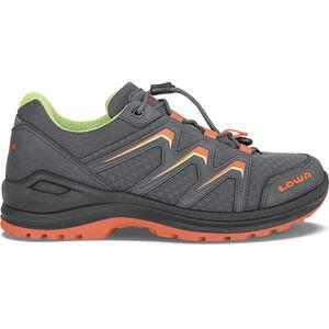 Lowa Maddox GTX Mid-Cut Schuhe Kinder graphite/mandarin graphite/mandarin