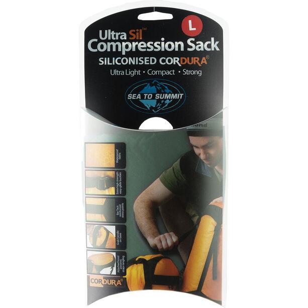 Sea to Summit Ultra-Sil Kompressionssack L green