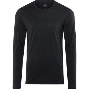 Icebreaker Tech Lite LS Crewe Shirt Herren black black