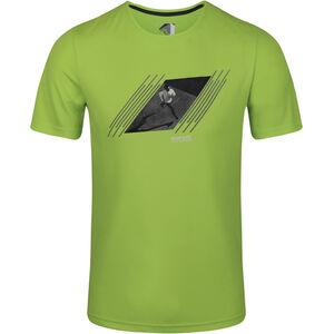 Regatta Breezed T-Shirt Herren electric lime electric lime