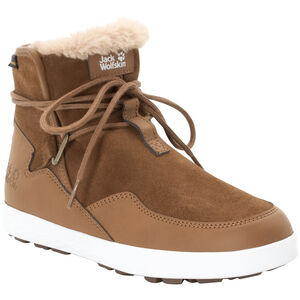 Jack Wolfskin Auckland WT Texapore Stiefel Damen desert brown/white desert brown/white