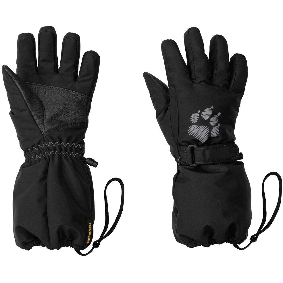 Jack Wolfskin Texapore Handschuhe Kinder black