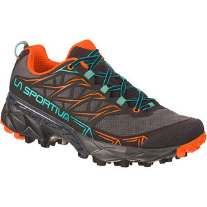 La Sportiva Akyra Running Shoes Damen black/aqua black/aqua