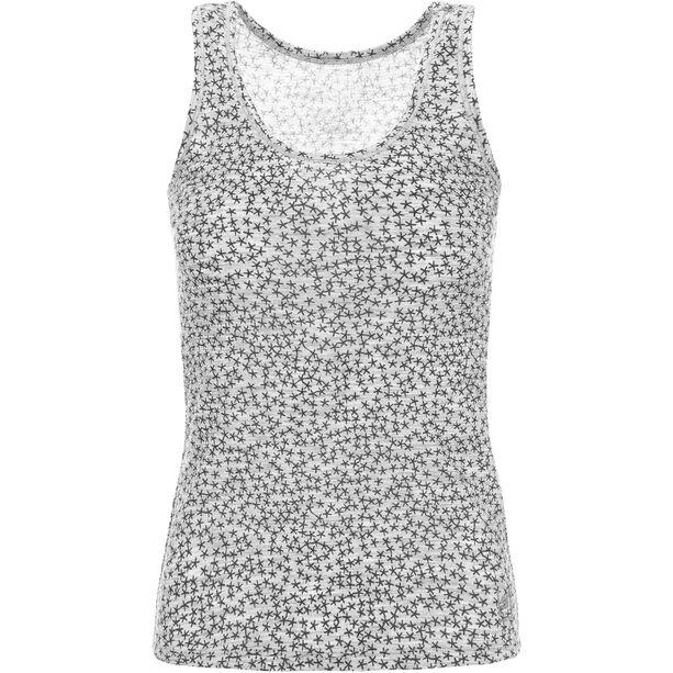 super.natural Base Print 140 Tank Top Damen ash melange/ash stars