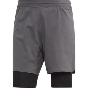 adidas TERREX Agravic 2in1 Shorts Herren grey five grey five