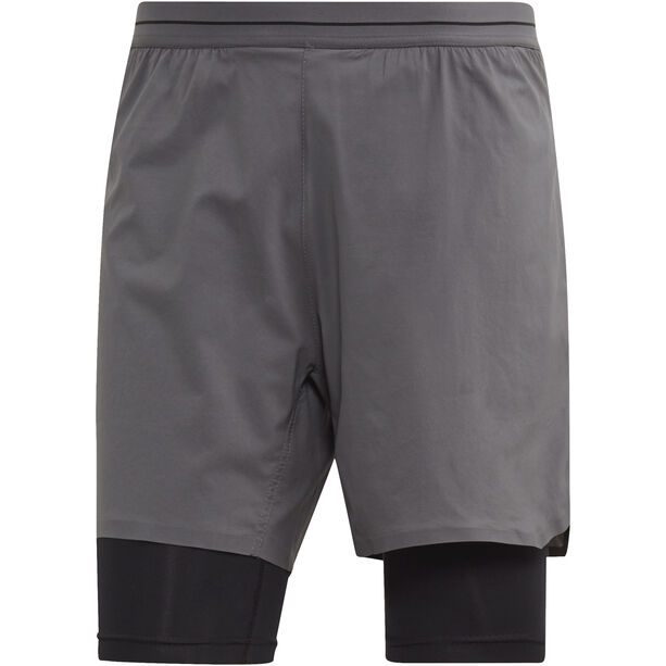 adidas TERREX Agravic 2in1 Shorts Herren grey five