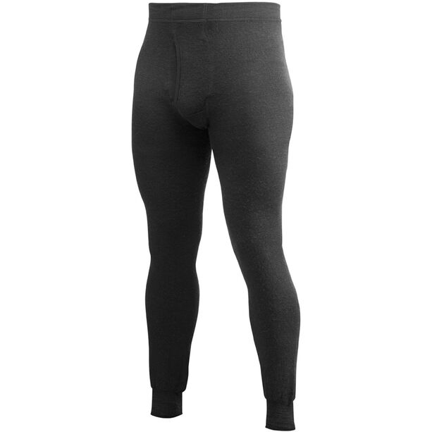 Woolpower 200 Long Johns with Fly Herren black