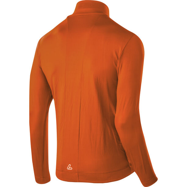 Löffler Thermo Velours Light Full-Zip Sweater Herren carrot