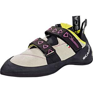 Scarpa Velocity Climbing Shoes Damen lightgray/yellow lightgray/yellow