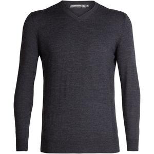 Icebreaker Shearer V-Ausschnitt Sweater Herren char heather char heather