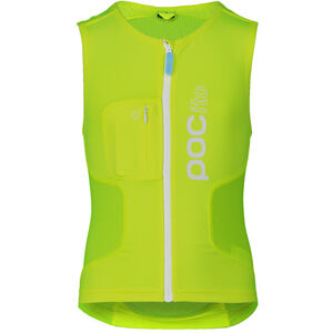 POC POCito VPD Air Protektor Weste Kinder fluorescent yellow/green fluorescent yellow/green