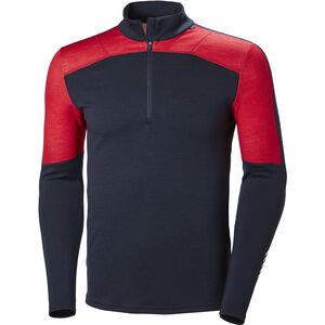 Helly Hansen Lifa Merino 1/2 Zip Shirt Herren navy navy