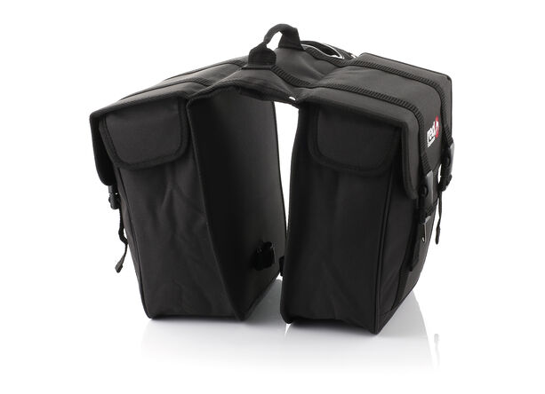 Red Cycling Products Premium Double Bag Gepäckträgertasche schwarz